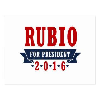 RUBIO 2016 CERTIFIED RIBBON -.png Postcard