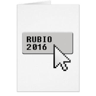 RUBIO 2016 CURSOR CLICK -.png Greeting Card