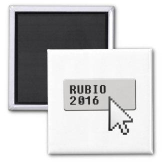 RUBIO 2016 CURSOR CLICK -.png Square Magnet