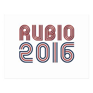 RUBIO 2016 LINE RETRO -.png Postcard