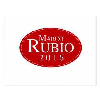 RUBIO 2016 OVALESQUE -.png Postcard