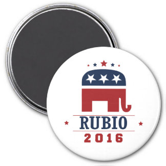 RUBIO 2016 ROCKWELL -.png 7.5 Cm Round Magnet