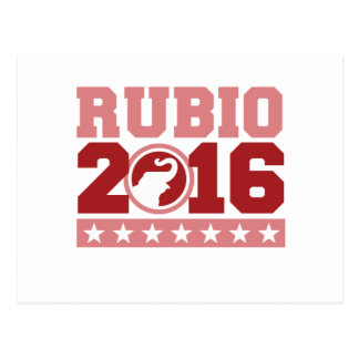 RUBIO 2016 ROUND ELEPHANT -.png Postcard
