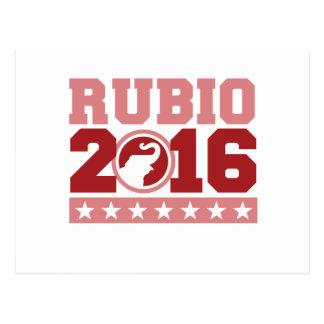 RUBIO 2016 ROUND ELEPHANT -.png Postcard