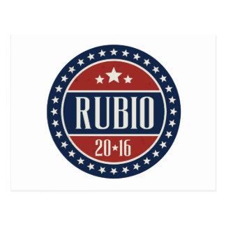 RUBIO 2016 STARCIRCLE -.png Postcard