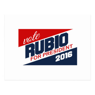 RUBIO 2016 SUPPORTER -.png Postcard