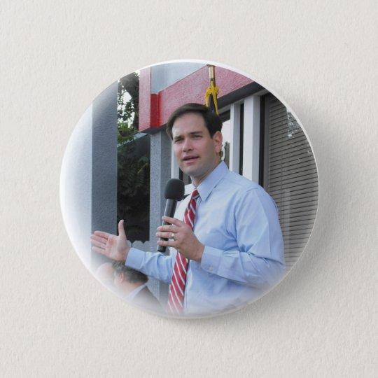 RUBIO-button 6 Cm Round Badge