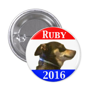 Ruby 2016 3 cm round badge