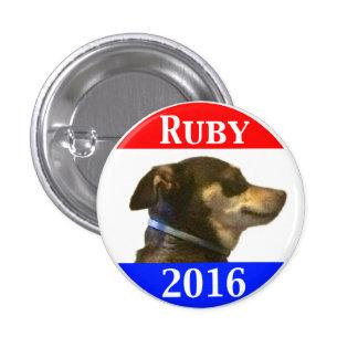 Ruby 2016 3 cm round badge