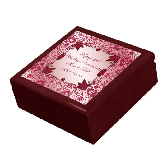 Ruby Wedding Anniversary Gifts Uk: Ruby 40th Wedding Anniversary Gift Box