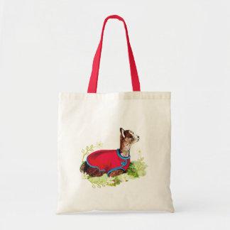 Ruby Alpaca Budget Tote