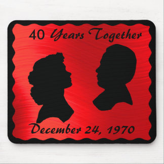 RUBY ANNIVERSARY-MOUSEPAD MOUSE MAT