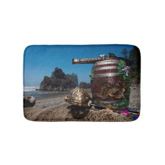 Ruby Beach Pirate treasure Bath Mats