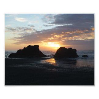 Ruby Beach Sunset Photo Print