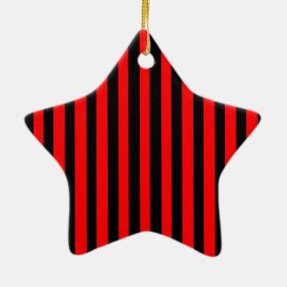 Ruby Black Christmas Ornament