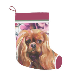 Ruby Cavalier Christmas Ornament | Stocking