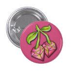 Ruby Cherries - Button