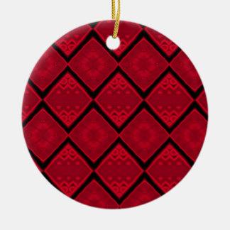 ruby  diamond christmas ornament