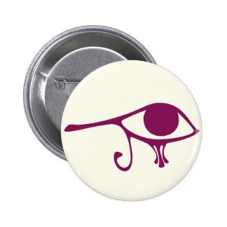 Ruby Eye of Horus Button