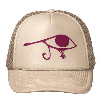 Ruby Eye of Horus Hats