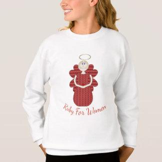 Ruby for Women Red Angel Sweatshirt