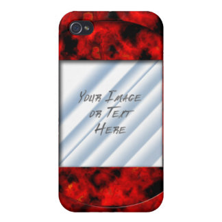 Ruby Frame iPhone 4 Case
