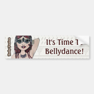 Ruby Fusion Slogan Bellydance Car Bumper Sticker