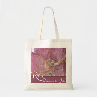 Ruby - July Birthstone Bag