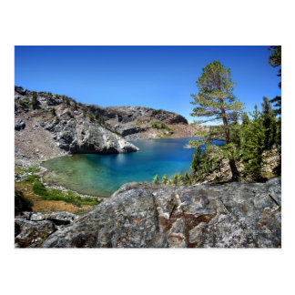 Ruby Lake - John Muir Trail - Sierra Nevada Postcard