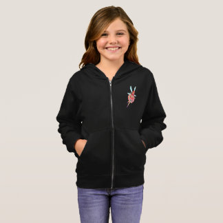 Ruby Official Dress Girl's Basic Zip Hoodie