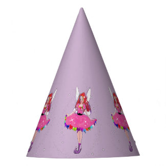 Ruby Party Dress Custom Party Hat