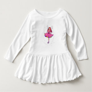 Ruby Party Dress Toddler Ruffle Dress