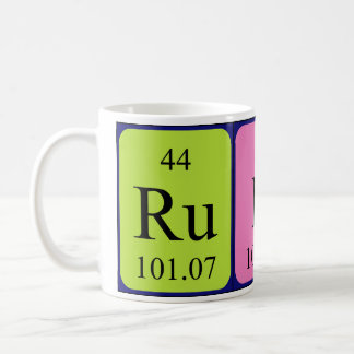 Ruby periodic table name mug