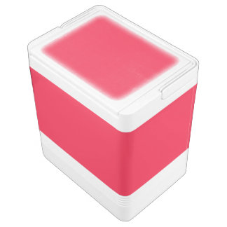 Ruby Red Igloo Cooler