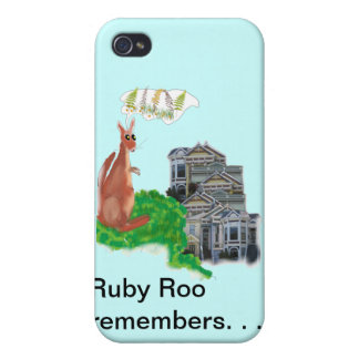Ruby Roo Remembers iPhone 4 Cover