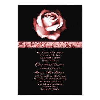 Ruby Rose Wedding Invitation