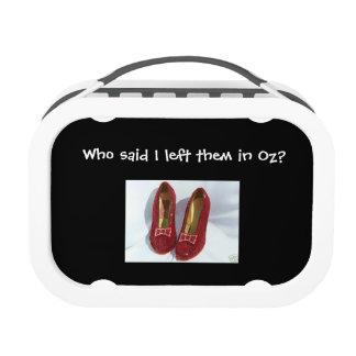 Ruby Slipper Lunch Box