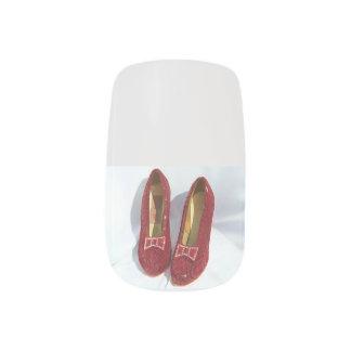 Ruby Slipper Nails! Nails Sticker