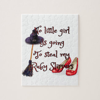 Ruby slippers are mine jigsaw puzzles