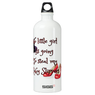 Ruby slippers are mine SIGG traveller 1.0L water bottle