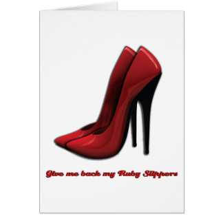 Ruby Slippers Cards