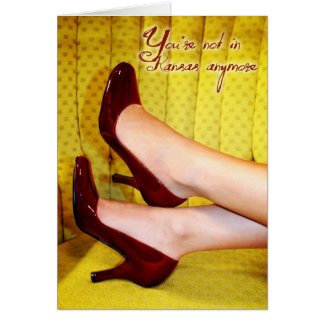 Ruby Slippers Card
