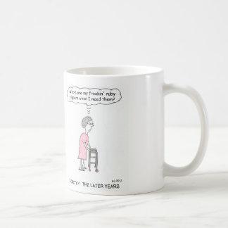 Ruby Slippers Cartoon Mug
