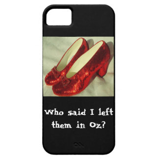Ruby Slippers Cell phone case iPhone 5 Cover