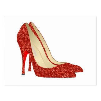 ruby slippers postcard