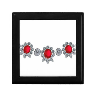 Ruby Socialite Necklace Small Square Gift Box