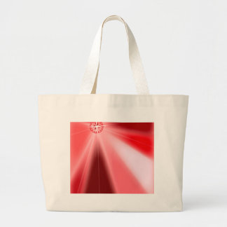 Ruby Starburst Large Tote Bag