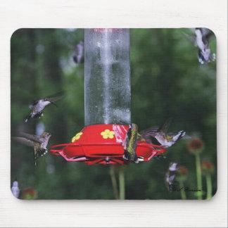 Ruby-throat Fall Migration Mousepad