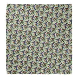Ruby-throated Hummingbird Patterned Do-rags
