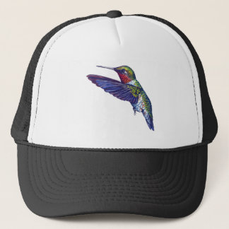 Ruby Throated Hummingbird Trucker Hat